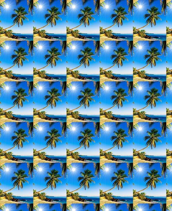 Vinylová Tapeta Tropické moře Idylické Wallpaper - Voda