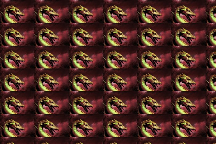 Vinylová Tapeta Ilustrace draka - Témata