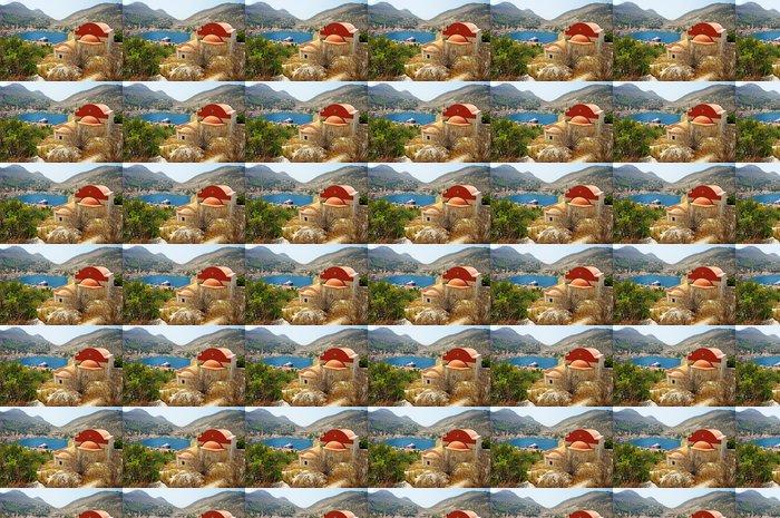 Vinylová Tapeta Řecký ostrov scenic- Kastelorizo, pohled s klášterem - Evropa