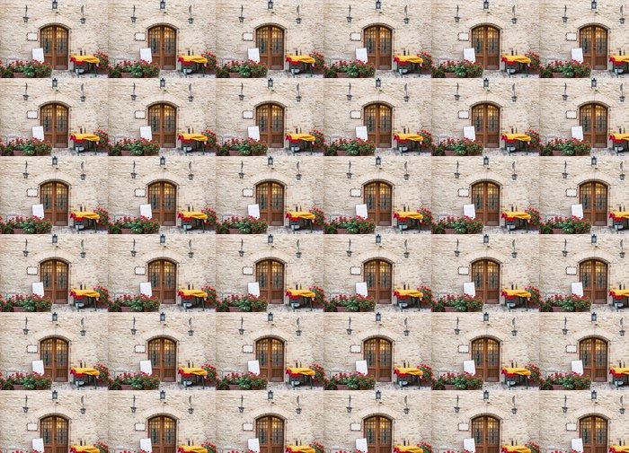 Vinylová Tapeta Přihlásit se typická italská restaurace - Témata