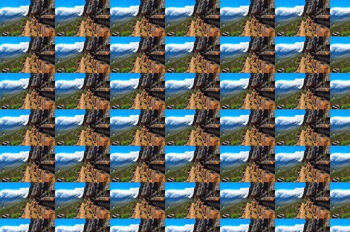 Vinylová Tapeta Stolová hora Jižní Afrika výlet stezka - Příroda a divočina