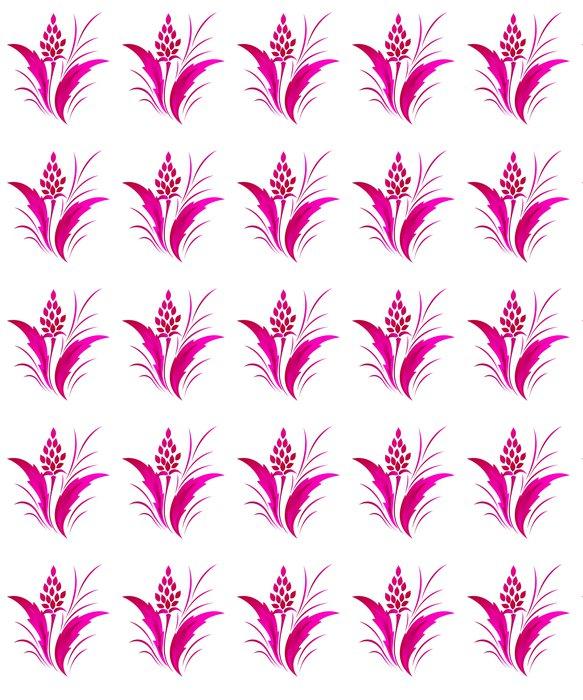 Vinylová Tapeta Květinový vzor klasický, tetování - Pozadí