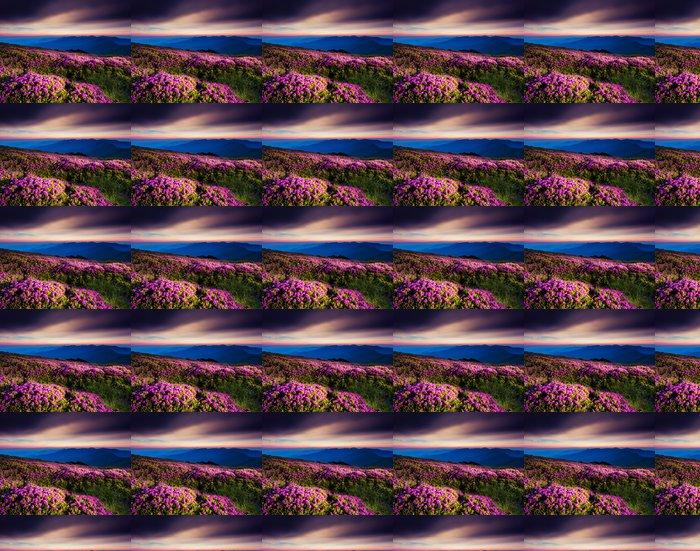 Vinylová Tapeta Květ - Hory