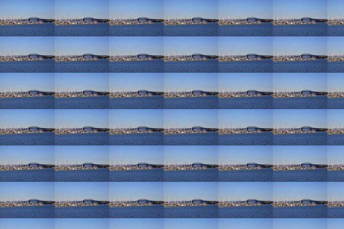 Vinylová Tapeta Auckland Harbour Bridge - Oceánie