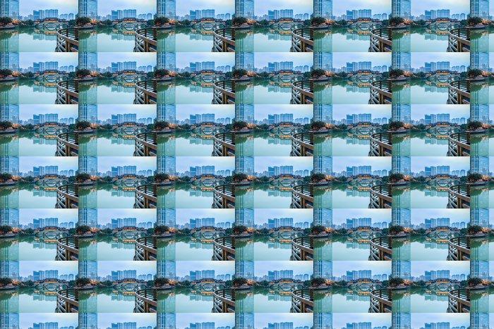 Vinylová Tapeta Chengdu scenérie - Památky