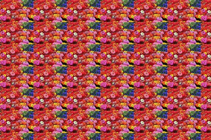 Vinylová Tapeta Moře květin - Květiny