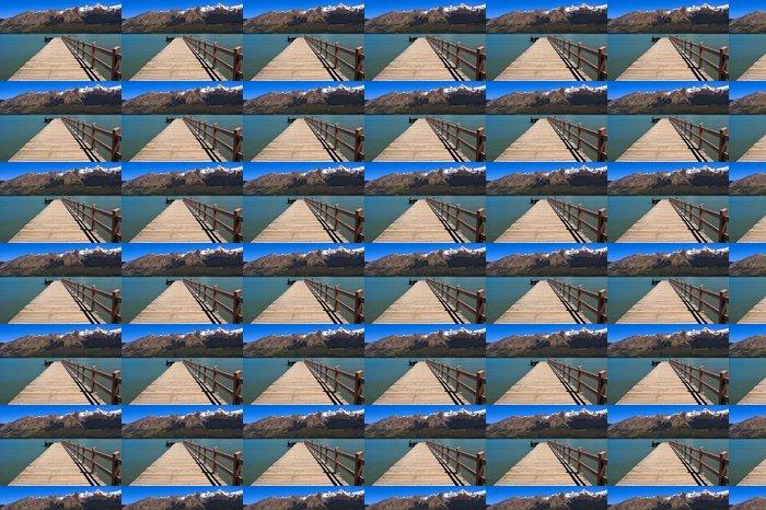 Vinylová Tapeta Glenorchy Jetty - Voda