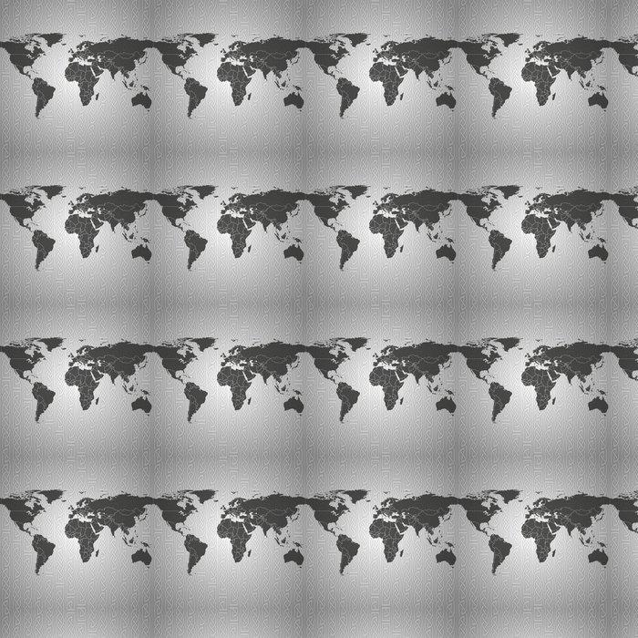 Vinylová Tapeta Mapa světa pozadí vektor - Prvky podnikání