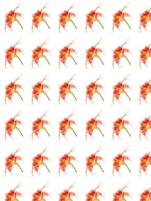 Vinylová Tapeta Pomerančového květu postříkání - Květiny