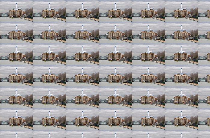 Vinylová Tapeta Ourcq - Evropská města