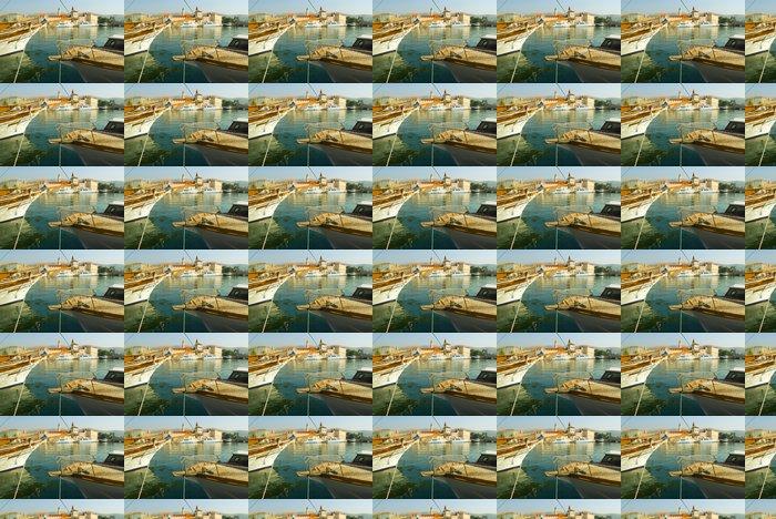 Vinylová Tapeta Jachty v přístavu Trogir -