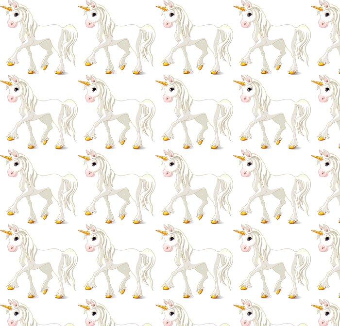 Vinylová Tapeta Krásné bílého jednorožce - Imaginární zvířata