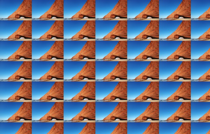 Vinylová Tapeta Arch skalní útvar na pláži. Maroko, Legzira. - Afrika