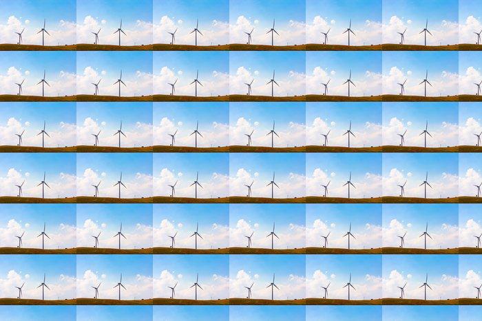 Vinylová Tapeta Větrné turbíny - Elektronika