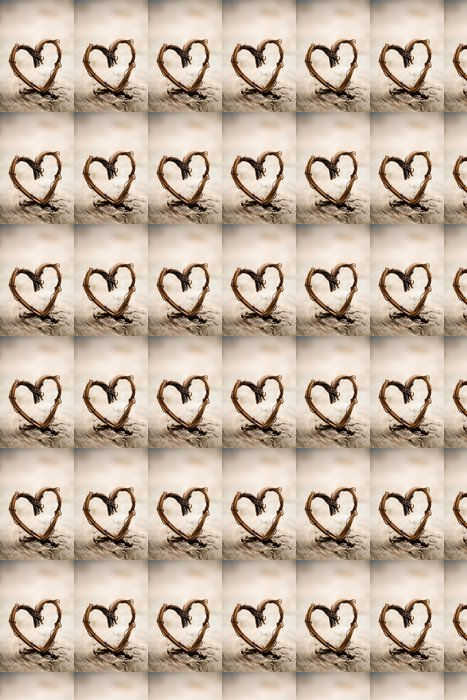 Vinylová Tapeta Valentýnské srdce - Mezinárodní svátky