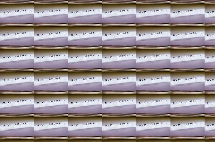 Vinyl Behang Postcode - Lezen