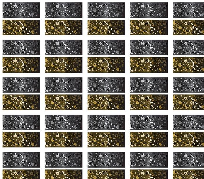 Vinylová Tapeta Abstraktní kovová mřížka background-vektor. Dosavadní stav dissyme - Surové materiály