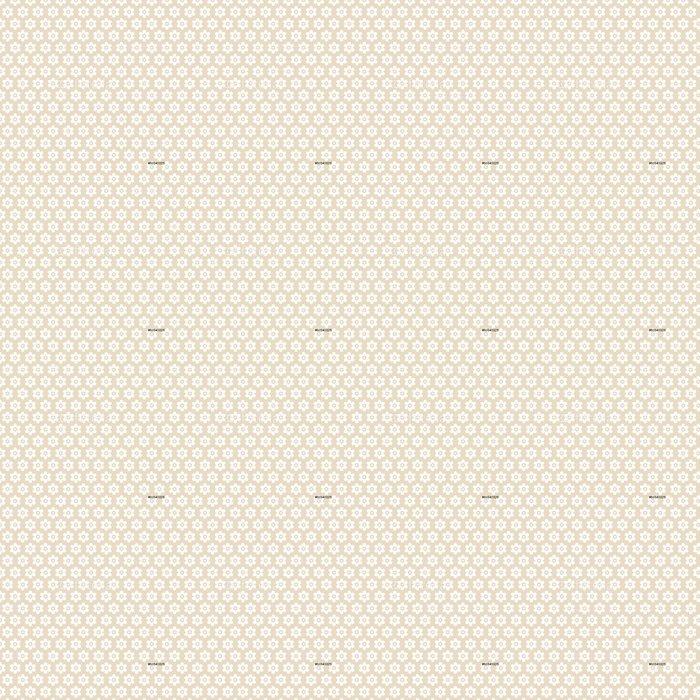Vinylová Tapeta Bezešvé vzor květiny Retro béžová - Styly
