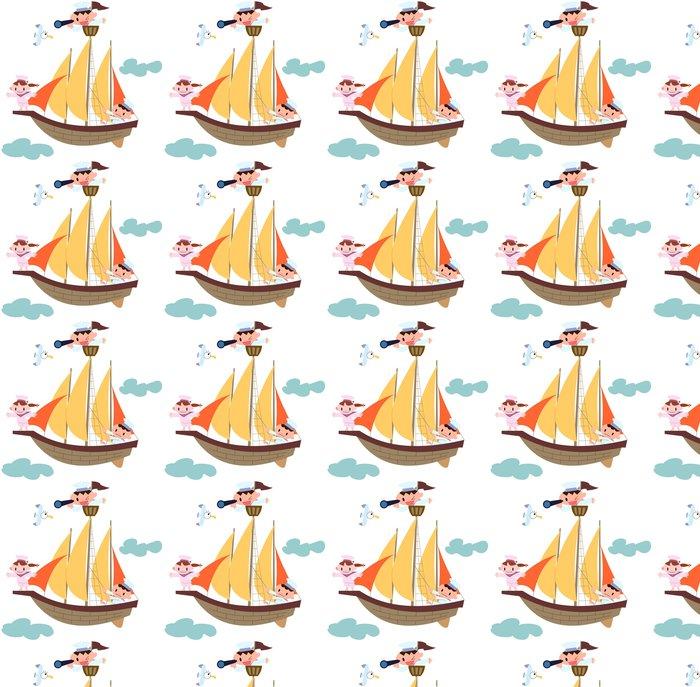 Vinylová Tapeta 帆船 と 子 ど も - Děti