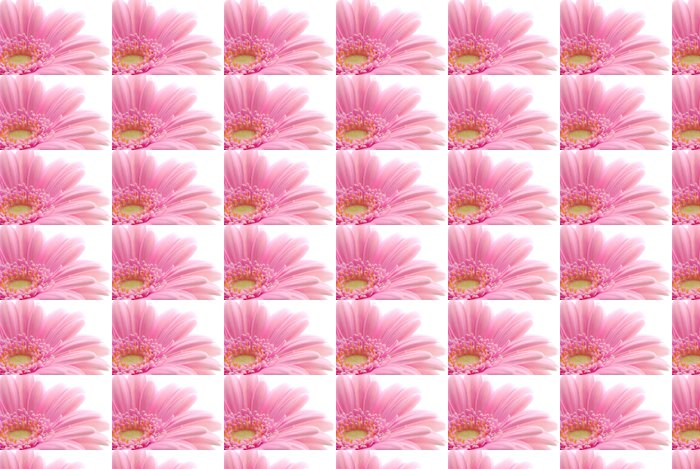 pink gerbera Vinyl Wallpaper - Seasons