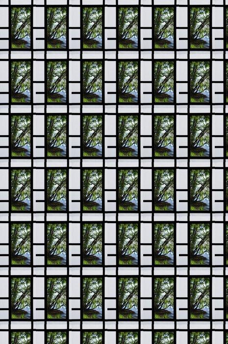 Vinylová Tapeta Posuvné dveře - Soukromé stavby