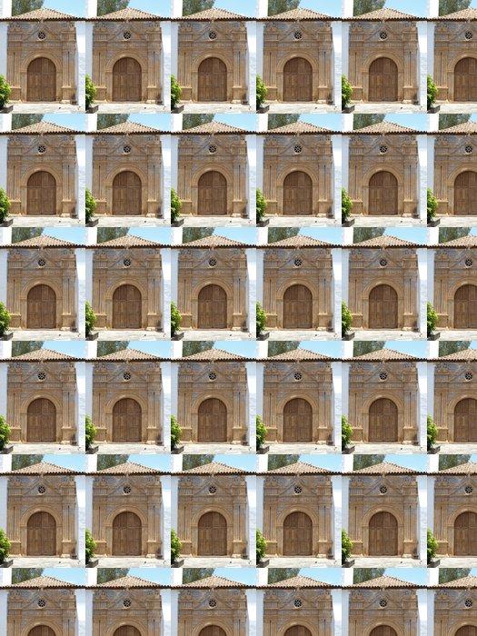 Vinylová Tapeta Kirchen Portal v Pajara auf Fuerteventura - Veřejné budovy