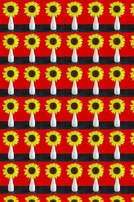 Vinylová Tapeta Giant slunečnice - Květiny