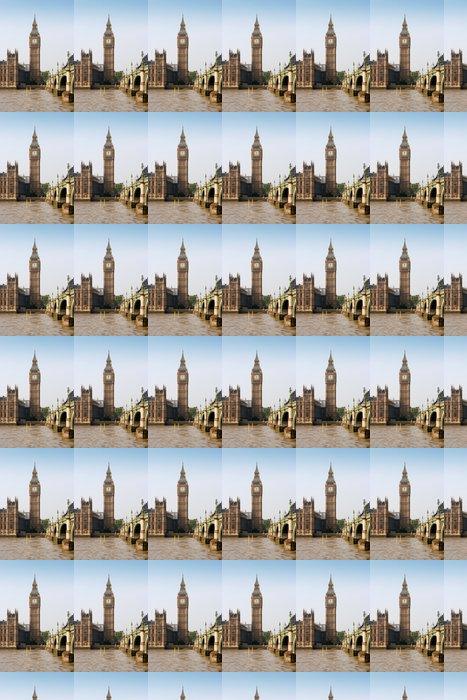 Vinylová Tapeta Westminster Bridge a Big Ben. Londýn, Anglie - Témata