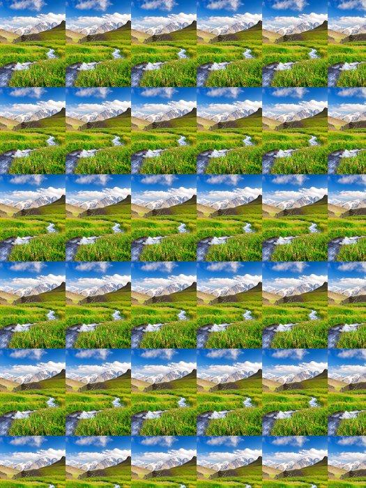 Vinylová Tapeta River na hřišti. Krásné letní krajina - Zemědělství