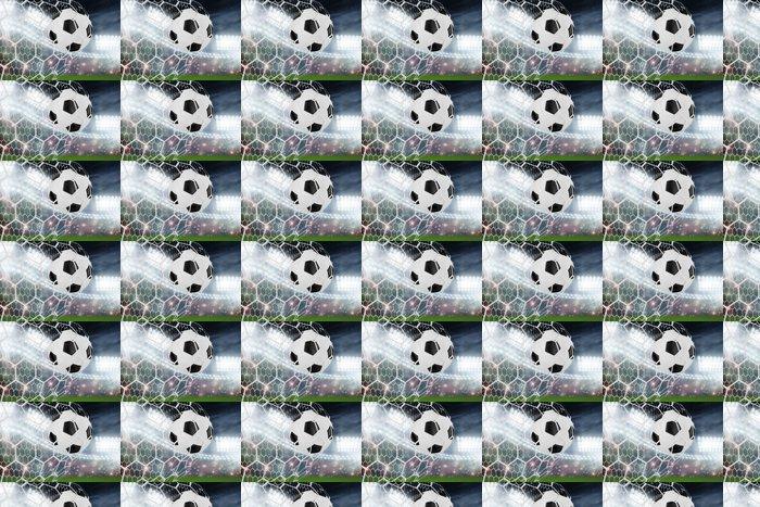 Vinylová Tapeta Fotbalový míč do branky - Úspěch