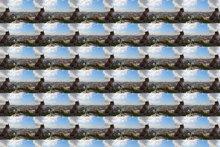 Vinylová Tapeta Chimera při pohledu na Paříž, Francie. - Evropská města