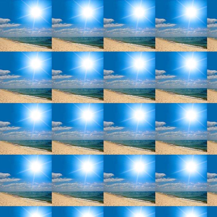 Vinylová Tapeta Sunshine nad mořem - Voda