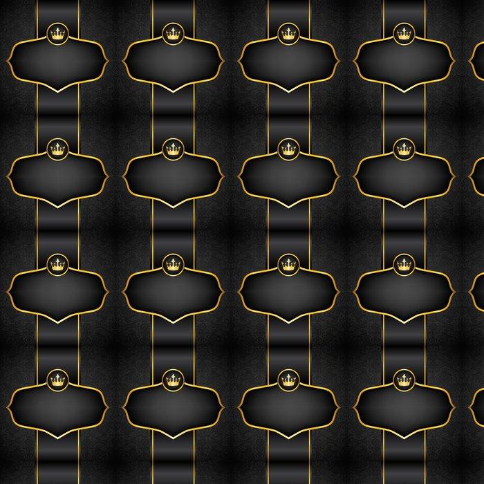 Vinylová Tapeta Royal černé pozadí - Úspěch