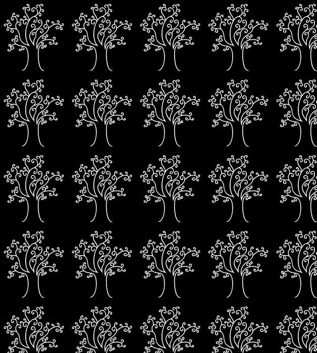 Vinylová Tapeta Abstrakt spletitý strom - Stromy
