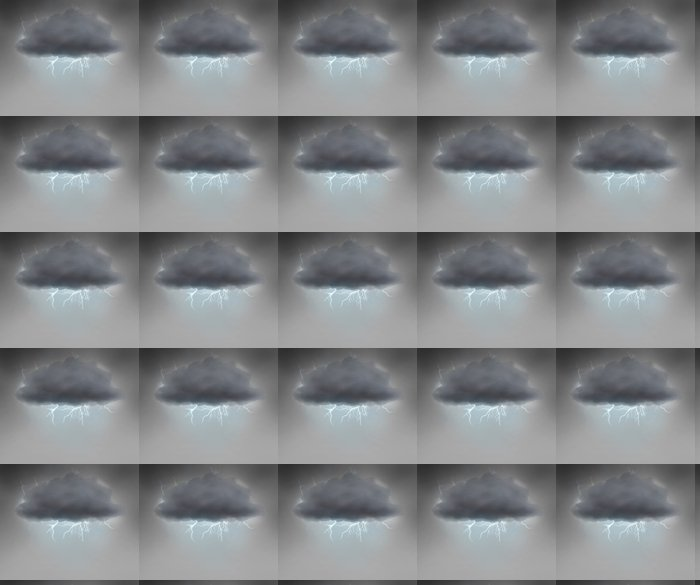 Vinylová Tapeta Bouřlivý mrak - Abstraktní