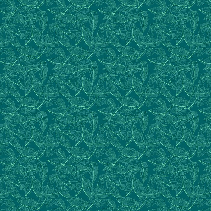 Vinylová Tapeta Palmu vzor - Grafika