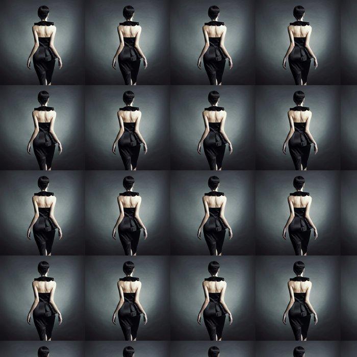 Vinylová Tapeta Elegantní dáma ve večerních šatech - Móda