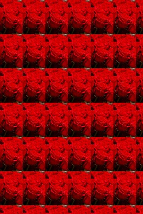 Vinylová Tapeta Red roses - Květiny