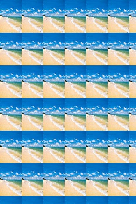 Vinylová Tapeta Sunshine Surf nebesky modrého - Příroda a divočina
