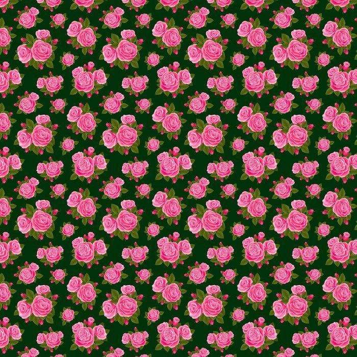 Vinylová Tapeta Rose bezešvé - Pozadí