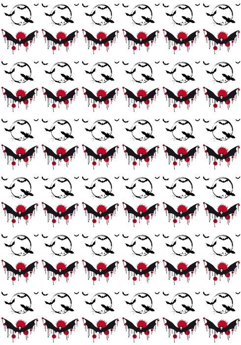 Vinylová Tapeta Halloween netopýři, vector set - Mezinárodní svátky