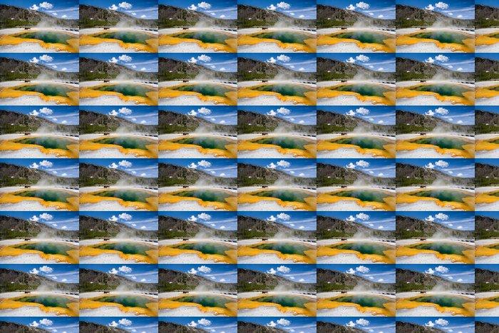 Vinylová Tapeta Yellowstone - Amerika