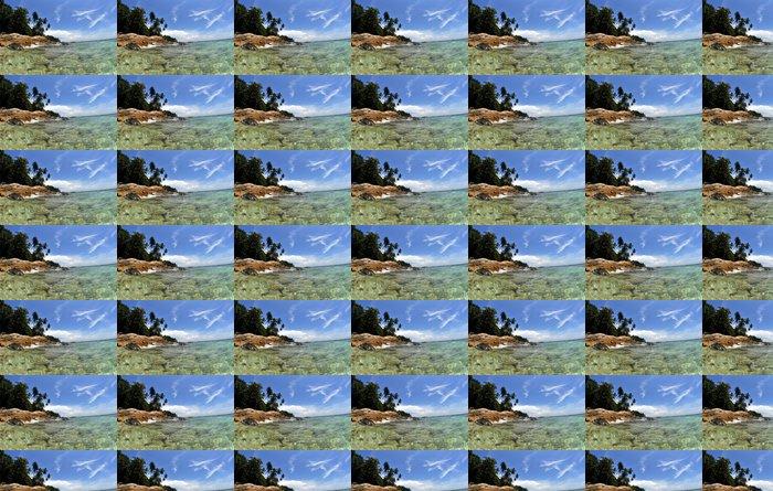 Vinylová Tapeta Tropický ostrov - Asie