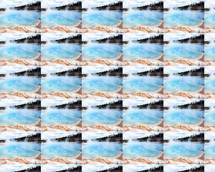 Vinylová Tapeta Tyrkysovým Pool - Přírodní krásy