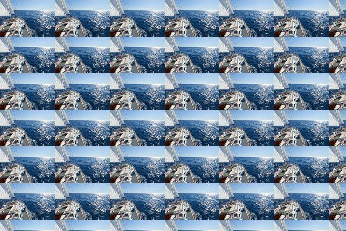 Vinylová Tapeta Yacht, závod plachetnic. - Vodní sporty