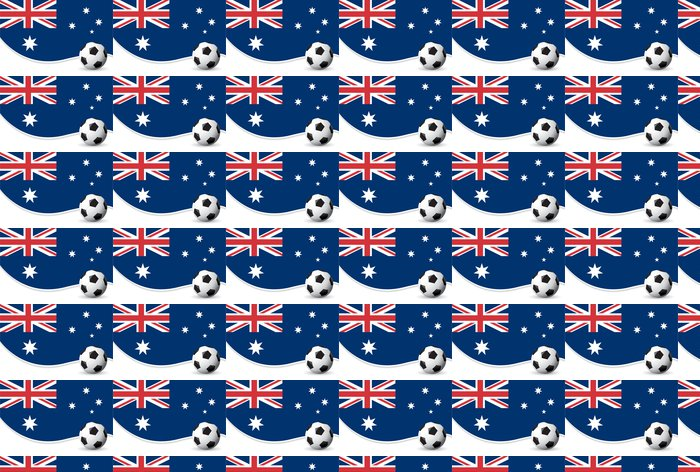 Vinylová Tapeta Austrálie Mistrovství světa ve fotbale pozadí - Oceánie