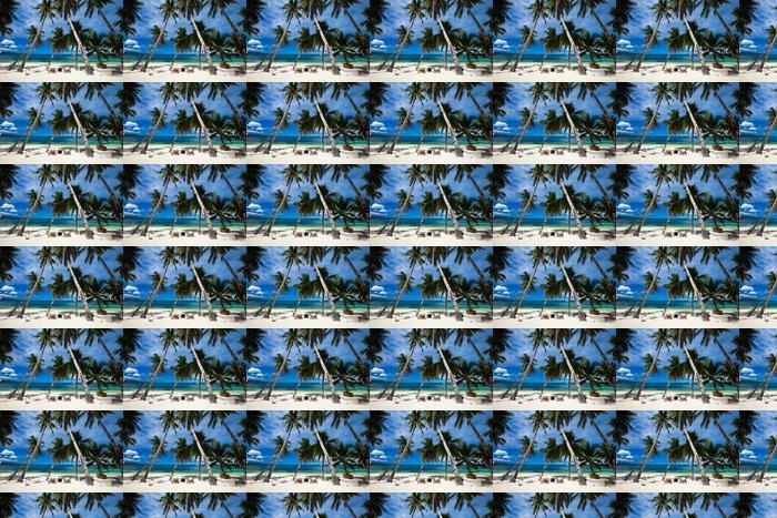 Vinylová Tapeta Tropické resort - Prázdniny
