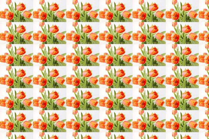 Vinylová Tapeta Tulipány - Květiny