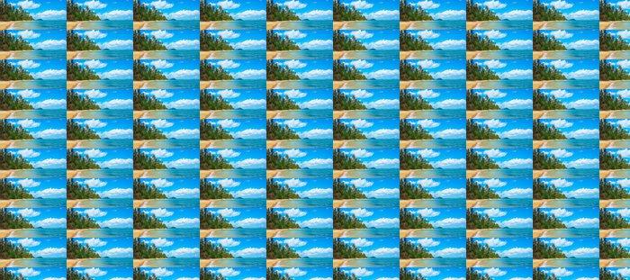 Vinylová Tapeta Nedotčená tropické pláže - Voda