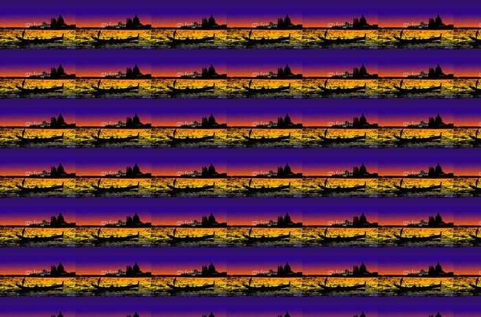 Vinylová Tapeta Venezia v noci - Evropská města